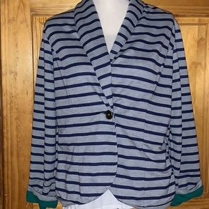 Maurices Striped Blazer XXL